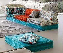 livingroom splendid mah jong sofa roche bobois in jean paul gaultier designed upholstery copy modular
