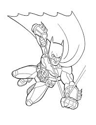 Free Printable Batman Coloring Books For