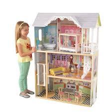 "<b>Трехэтажный дом из</b> дерева для Барби <b>Kidkraft</b> ""Кайли"" с ..."