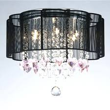 ceiling light shade with crystals morn drum sha romantic crystal ceiling pennte ceiling lights fixture lighting lamp x in ceiling lights from lights
