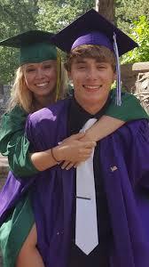 "Bridget Horstmann on Twitter: ""CONGRATULATIONS Kylie @Marquardt_K & Topher  @tophjustmann!! 💖❤ I'm so proud of you two! #graduation #lovebirds… """