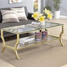 contemporary glass gold frame coffee table view full size gold and glass table gold glass coffee