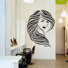 Small Picture DIY Vinyl Hair Beauty Salon Sexy Girl Wall Decal Home Decor