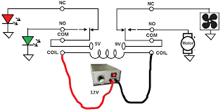how to connect a dpdt relay in a circuit dpdt relay circuit