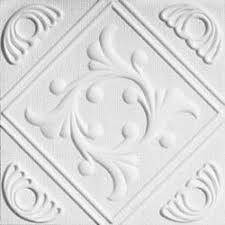 Decorative Foam Tiles Amazon Anet White Styrofoam Ceiling Tiles for Glueup 8