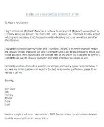 Professional References Letter Personal And Professional References Vbhotels Co