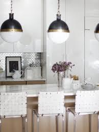 Kitchen Backsplash Kitchen White Kitchen Backsplash With Black And White Kitchen