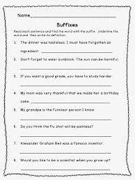 Prefix And Suffix Worksheets 5Th Grade Worksheets for all ...