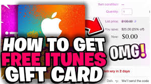 how to get free itunes gift card codes free 2018