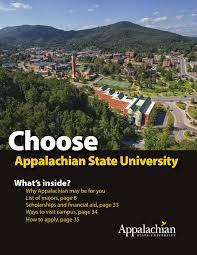 Viewbook 2013 14 By Appalachian State University Issuu