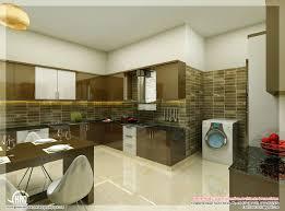 Stunning Kerala Kitchen Interior Design Photos  On Kitchen - Kerala house interiors