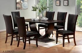full size of interior modern dining sets in black and white theme with rectangular table
