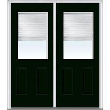 clear glass front door. Interesting Front MMI Door 72 In X 80 Internal Blinds LeftHand Inswing 1 Inside Clear Glass Front E