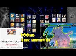 El juego tiene todo tipo de personajes familiares de huo ying y bleach. Full Char Ukuran Kecil Naruto Mugen Android 200mb Youtube
