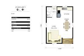 One Bedroom Granny Flat Floor Plans