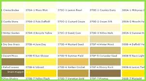 Shades Of Yellow Color Chart Shades Of Yellow Paint Home Depot Colours Color Paints Chart