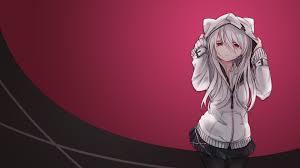 white hair, Anime girls Wallpapers HD ...