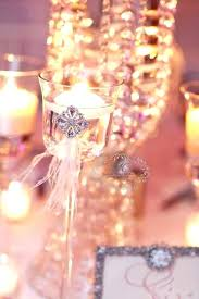 candle chandelier centerpieces for weddings candle chandelier centerpieces four seasons wedding feature in the bride and