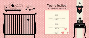 Themes : Pink And Black Damask Baby Shower Invitations Together ...