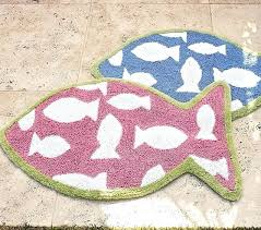 pottery barn white bath rug marlo organic fish interiors kitchen excellent lovable with shaped mat kids