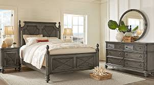 caribbean furniture. Caribbean Islands Gray 5 Pc King Low Poster Bedroom Furniture I