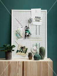 Homemade Memo Board Stunning A Homemade Memo Board Made From A Perforated Board And Rubber