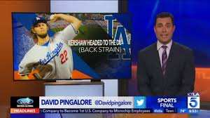 channel 9 news los angeles. david pingalore doing sports at los angeles\u0027 ktla channel 9 news angeles