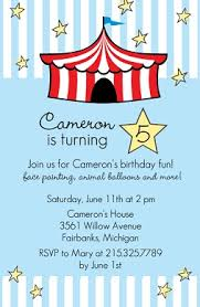 Kids Birthday Party Invitations From PurpleTrail