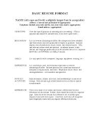 Example Resume Format Resume With Example Resume Waitress Example ...