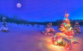 Free download Snowy Night Background HD ...