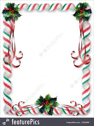 christmas candy border. Exellent Candy Christmas Candy And Holly Border RoyaltyFree Stock Illustration For FeaturePicscom