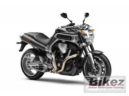 2009 Yamaha <b>MT</b>-<b>01</b> specifications and pictures