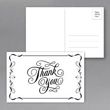 Thank You Note Size