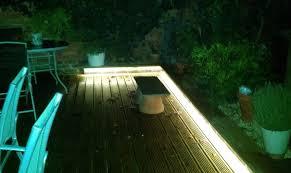 outdoor garden lighting. Lighting Up Your Garden With LED Strips Outdoor
