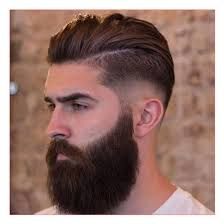 Beard And Hair Style indian men hairstyle as well as mid fade with slick back and beard 4893 by wearticles.com