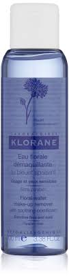 klorane fl water make up remover with soothing cornflower for sensitive skin micellar cleansing
