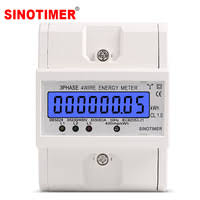 3 Phases Energy Meters - <b>SINOTIMER</b> Official Store - AliExpress