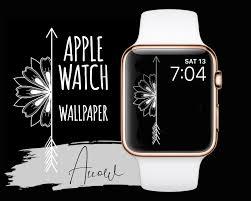 Apple Watch Wallpaper Hand Drawn Arrow ...