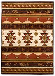 chandra ganesh ganesh39 rug green black white tan southwestern area rugs by arearugs