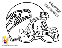 Football Helmet New York Giants Coloring Pages In Ny