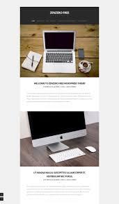 Zenzero Design Zenzero Free Portfolio Wordpress Theme Freebie Supply