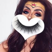 <b>5 Pairs</b> Thick Cross False Eyelashes <b>3D</b> 100% Mink Makeup H14 ...