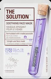 <b>The Face Shop</b> The Solution Soothiing Face Mask <b>Тканевая</b> маска ...