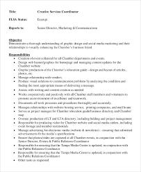 creative services director job description service director job description