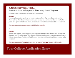 part and the common application and the college essay question  10 your college application
