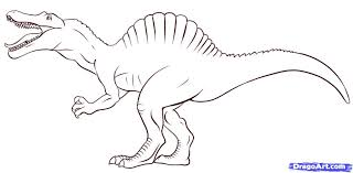 Small Picture Spinosaurus Coloring Pages Bebo Pandco