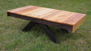 Herringbone Table  EtsyPallet Coffee Table For Sale