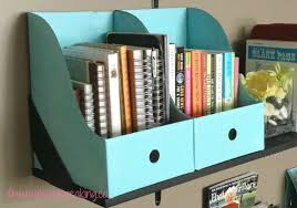 Diy Desk Organizer Diy Study Table Organizer