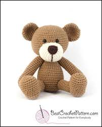 Crochet Teddy Bear Pattern Enchanting Easy Crochet Teddy Bear Patterns Best Crochet Pattern