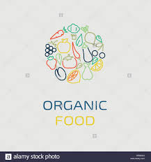 Fruit And Vegetable Logo Design Vector Logo Design Template With Fruit And Vegetable Icons